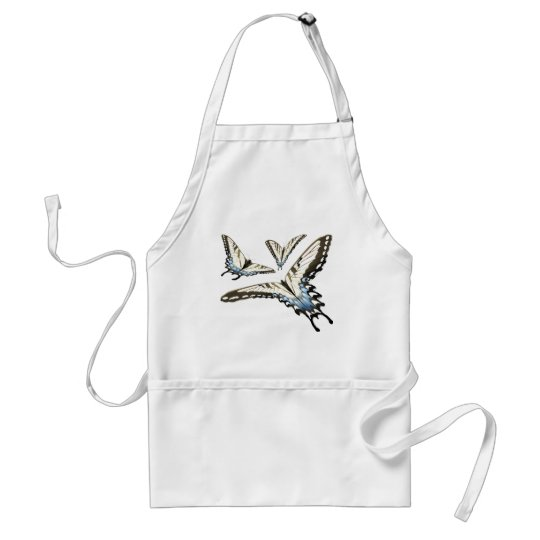 Flying Butterlies Adult Apron
