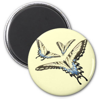Flying Butterlies Refrigerator Magnets