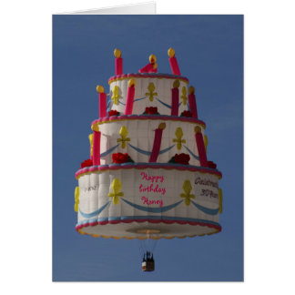 flying cake cards