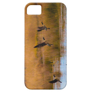 Flying Canadian Geese Phone Case