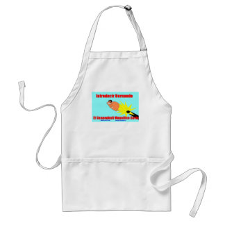 flying cannonball cavie adult apron