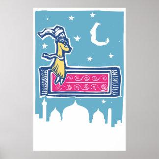 Flying Carpet Poster