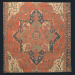 "Flying Carpet Ride Cloth Napkins<br><div class=""desc"">Rub your lamp and make a wish! These Flying Carpet Ride cloth napkins feature the image of a classic, antique Persian rug from the late 19th century. The colors, in shades of red, green, blue and ivory, will look lovely with any decor. It&#39;s like owning a valuable vintage textile that...</div>"