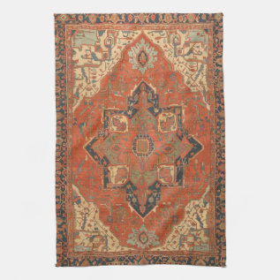 Flying Carpet Ride Kitchen Towel at Zazzle