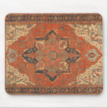 "Flying Carpet Ride Mousepad<br><div class=""desc"">Rub your lamp and make a wish! If you wished for a very classy mousepad, you are in luck! This Flying Carpet Ride mousepad features the image of a classic, antique Persian rug from the late 19th century. The colors, in shades of red, green, blue and ivory, will look lovely...</div>"