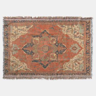 Flying Carpet Ride Throw Blanket