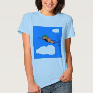 flying carrot t shirt