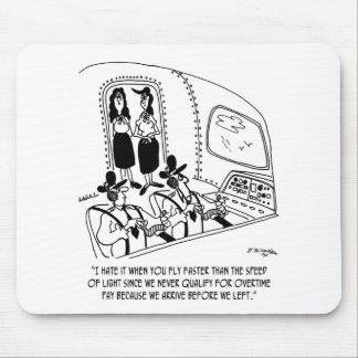 Flying Cartoon 7547 Mouse Pad