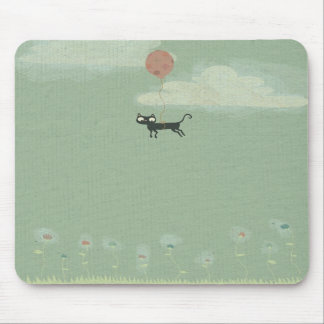 Flying Cat Mouse Pads