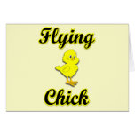 Flying Chick Card