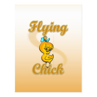 Flying Chick Postcard