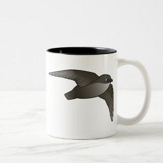 Flying Chimney Swift Two-Tone Coffee Mug