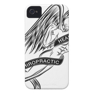 Flying Chiropractic Angel iPhone 4 Case-Mate Case