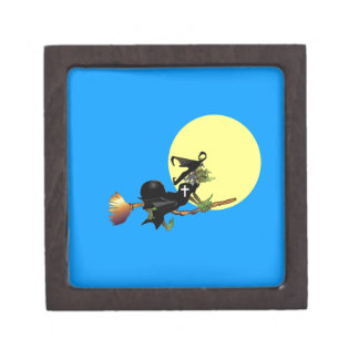 Flying Christian Witch Premium Gift Box