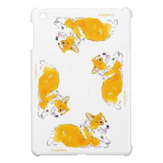 Flying Circle Corgis Mini iPad Case