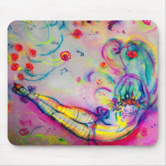 FLYING CIRCUS MOUSE PAD