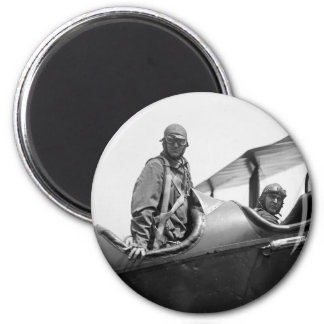 Flying Coach, 1920s 2 Inch Round Magnet