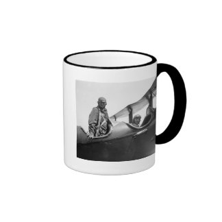 Flying Coach, 1920s Ringer Coffee Mug