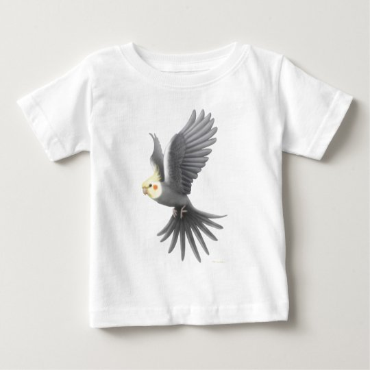Flying Cockatiel Infant T-Shirt