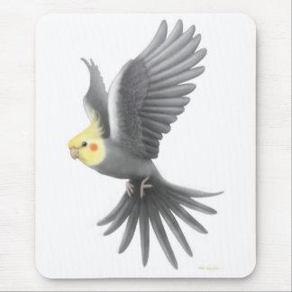 Flying Cockatiel Mousepad