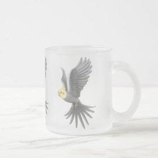 Flying Cockatiel Mug
