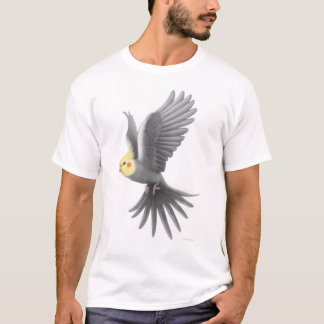 Flying Cockatiel T-Shirt