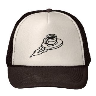 Flying Coffee Trucker Hat