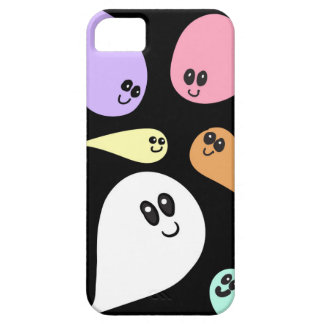 Flying Colorful Cute Ghosts iPhone SE/5/5s Case
