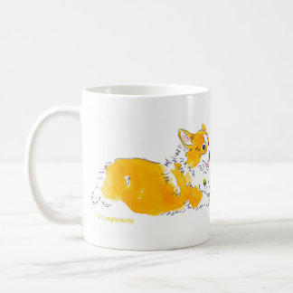 Flying Corgis Mug