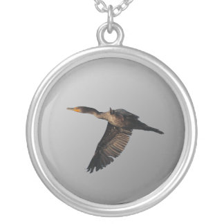 Flying Cormorant 1 Necklace