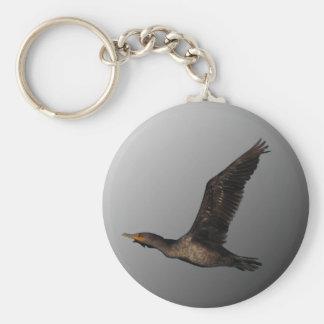 Flying Cormorant 2 Keychain