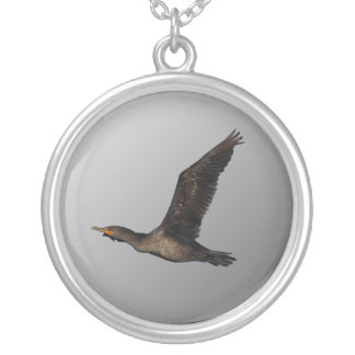 Flying Cormorant 2 Necklace