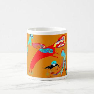 Flying cow feeding mug
