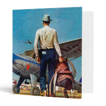Flying Cowboy by Mead Schaeffer Binder