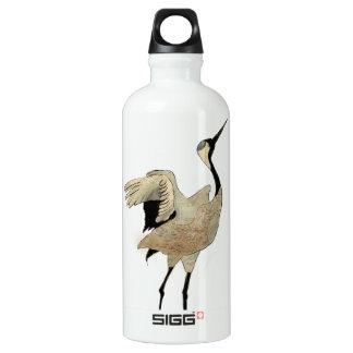 Flying crane aluminum water bottle
