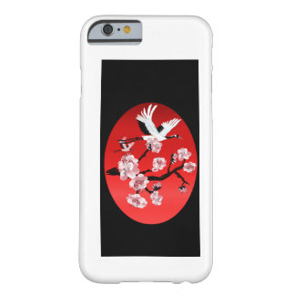 Flying Crane and Sun-(dark) iPhone 6 case