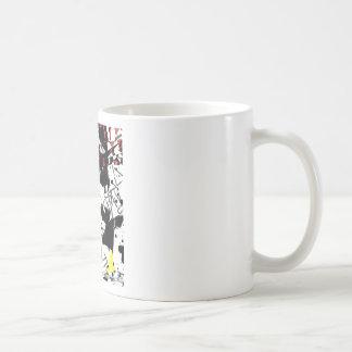 Flying crane_tsz01 coffee mug
