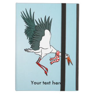 Flying Crane Wearing A Neck Scarf iPad Air Case