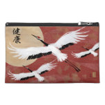 Flying Cranes Cosmetic Travel Bag Travel Accessories Bags
