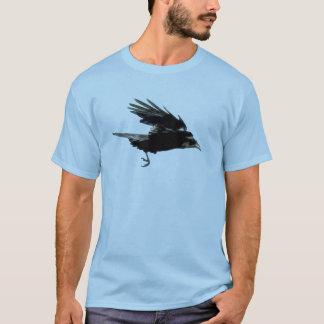 Flying Crow Art Raven-lovers Wildlife Tee