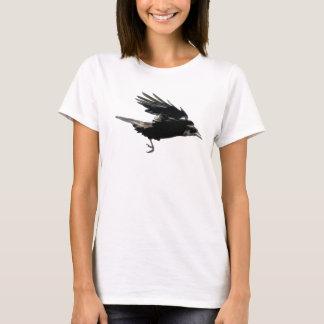 Flying Crow Artistic Corvid-lovers Shirt