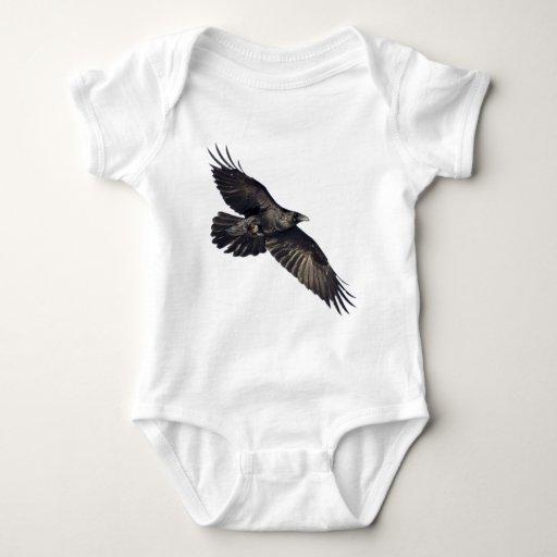 Flying Crow Baby Bodysuit
