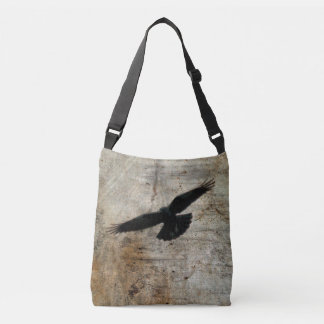 Flying Crow Crossbody Bag