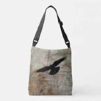 Flying Crow Tote Bag