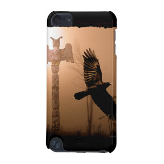 Flying Crow & Totem Pole First Nations-style iPod Touch 5G Covers