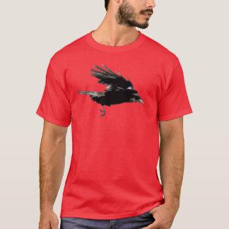 Flying Crow Wildlife Art Shirt