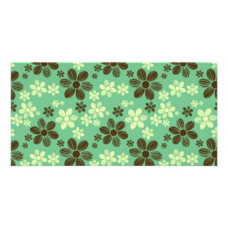 Flying daisies card