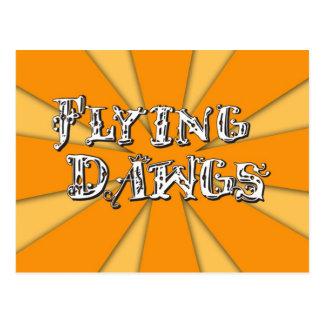 Flying Dawgs Main Logo Postcard