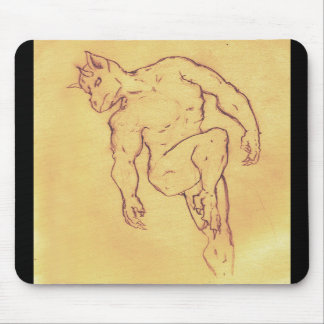 Flying Demon Mouse Pad