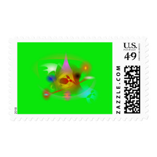 Flying Device Postage Stamp